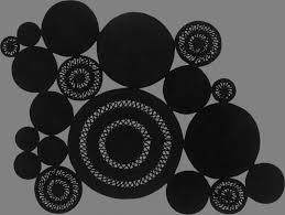 tappeti piacenza alyssa patchwork black haute couture sitap carpet couture