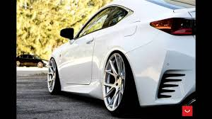 tuned lexus is350 dia show tuning lexus rc 350 auf 20 zoll vfs 6 vossen wheels youtube