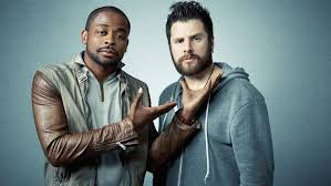 james roday and maggie lawson 2015 psych s james roday dule hill savor series creative freedom variety