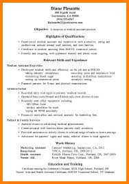 Resume Examples For Medical Assistants by 7 Resume Examples For Medical Assistant Forklift Resume