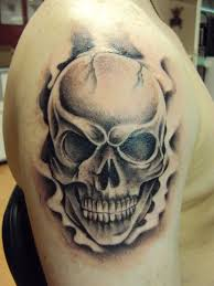 hd smoke skull tattoos clown for and