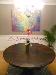 refinishing an oak table a dining room update live pretty on a