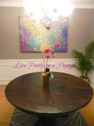 live pretty on a penny refinishing an oak table a dining room live pretty on a penny refinishing an oak table a dining room update