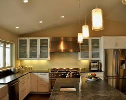 kitchen lighting pendant lights height over bar wood countertop