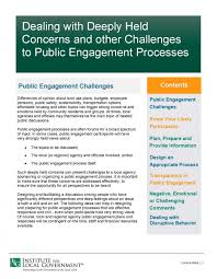 Getting Around Local And Regional by Difficult Situations In Public Engagement Institute For Local