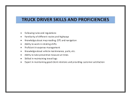 Truck Driving Resume Sample by Sample Resume Driving Skills Resume Ixiplay Free Resume Samples