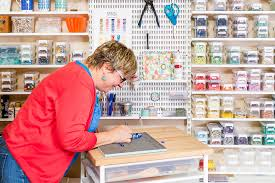 elfa butcher block tops the container store