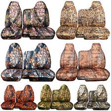 Camo Bench Seat Covers For Trucks 98 03 Ford Ranger Tree Camo Car Seat Covers 60 40 Split Bench W