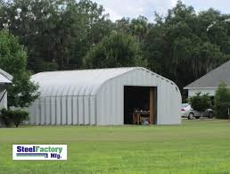 Small Metal Barns P Series Arch Building Steel Buildings By Steel Factory Mfg