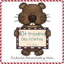 10 groundhog activities kids activities ground hog