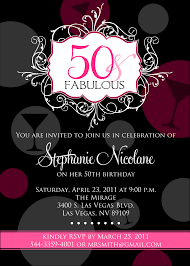 Invitation Cards For Birthday Party For Adults 50th Birthday Party Invitations Theruntime Com