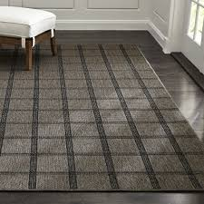 Crate And Barrel Outdoor Rug Butler Grid Indoor Outdoor 12 Sq Rug Swatch Crate And Barrel
