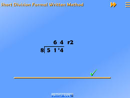 divide numbers up to 4 digits by a two digit whole number using