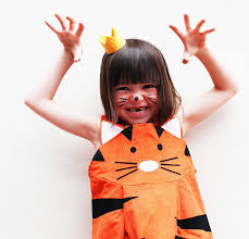tiger girls play dress up costume by wild things funky little