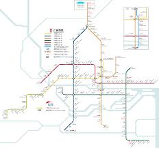 Shenzhen Metro Map by Guangzhou Metro Map China