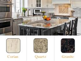 Kitchen Countertops Corian What U0027s The Best Kitchen Countertop Corian Quartz Or Granite