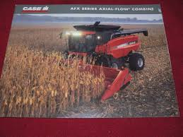 case international afx series axial flow combine dealer u0027s brochure