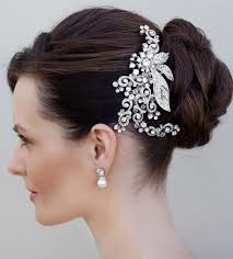 bridal hair clip vintage women s accessories vintage rhinestone bridal hair clip