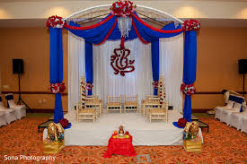 mandap in st petersburg fl indian wedding by sona photography