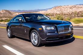 rolls royce wraith modified rolls royce wraith on the bed of grass
