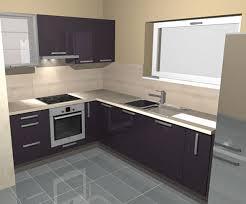 modele cuisine en l cuisine placard idée de modèle de cuisine