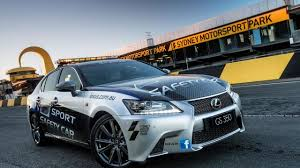 lexus cars for sale australia lexus gs 350 f sport safety car revealed in australia