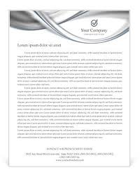 silver abstract waves letterhead template u0026 design id 0000001841