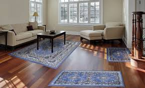 Place Area Rug Living Room Traditional Medallion Persian 3 Pcs Area Rug Oriental Bordered