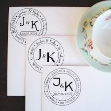 wedding invitations stamps medium wedding monogram address stamp 28 00 via etsy and this