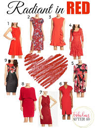 radiant in red dresses for valentine u0027s day