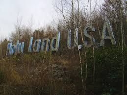 holy land usa before u0026 after the abandoned christian theme park