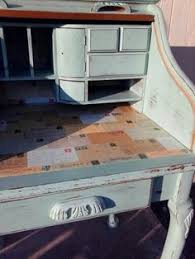 shabby rolltop desk u2014 vintage farm furniture home ideas