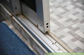 how to remove sliding glass door rollers how to remove sliding glass shower doors 6 steps with pictures