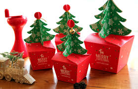 3 small christmas tree boxchristmas gift boxchristmas