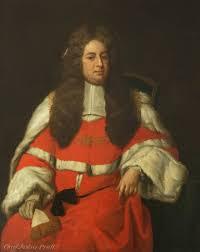 sir john pratt 1657 u20131725 lord chief justice of the king u0027s bench