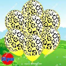 Cheetah Party Decorations Leopard Print Party Supplies Ebay