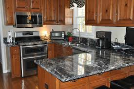 granite countertop above kitchen cabinet decor ideas brown