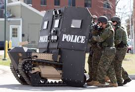 the evolution of swat team equipment from wwii rifles to bearcats