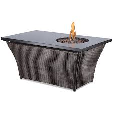Firepit Coffee Table Teva Furniture Timber Concrete Propane Pit Table Reviews