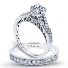 detailed engagement rings kirk kara engagement ring from the stella collection princess