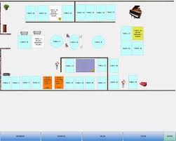 plan d une cuisine de restaurant clyo systems fonctionnalités du logiciel de caisse encaissement et