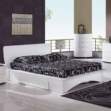 Diy Platform Bed With Storage by White Platform Bed With Storage Bed With Storage Elevated Platform