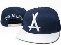 alumni snapbacks navy blue tha alumni snapbacks white logo snapback hats fashion