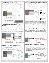 wiring a maglock fail safe wiring an electric door strike fail