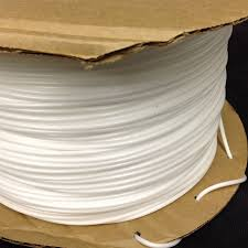 piping cord 200meters roll 8mm poly flex foam welt piping cords white elastic