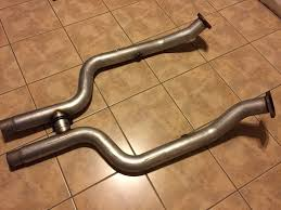 lethal mustang fs 2011 2014 exhaust gt500 axel backs lethal offroad h and 2