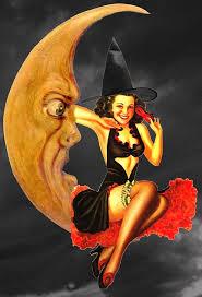 vintage witch illustration 257 best brujas images on pinterest