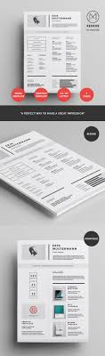 resume modern fonts for logos 25 creative resume templates to land a new job in style