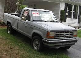 Ford Old Truck Models - file 1990 ford ranger xlt jpg wikimedia commons