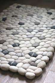 pebble rug pebble bath rug different ways for enchanting rug tikspor